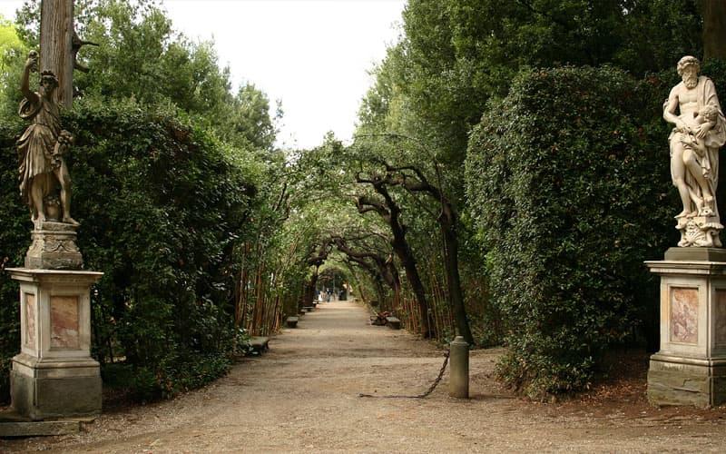 чем заняться в италии сады Боболи